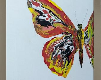 "Aspirations 10 x 12"" (25.4 x 30.4 cm) Original Acrylic Art-Framed or unframed option."