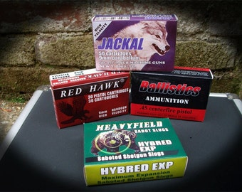 Resident Evil 4 Ammo Boxes and First Aid Label Digital Download