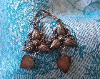 Balinese Silver Jewelry-vintage-earrings-feminine-925 silver