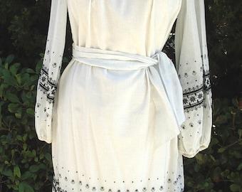 Reduced 40% Vintage Teens/ 20s Inspired Summer Dress Embroidered Batiste Size:10  Item # 622 Summer Dresses