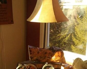 Hollow Log Table Lamp