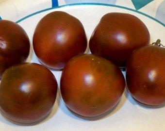 Black Prince Tomato Heirloom Garden Seed Non-GMO 30+ Seeds Naturally Grown Open Pollinated Gardening