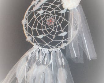 Dreamy wedding dreamcatcher