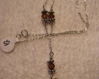 Necklace Sterling Silver Celtic Heart 3