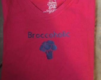 Broccoholic t-shirt