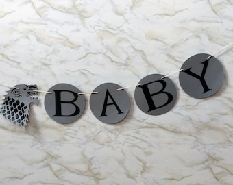 Baby Is Coming Garland