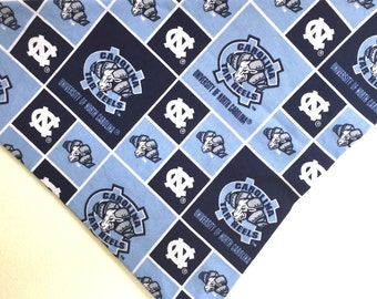 University of North Carolina Tar Heels Tie On Doggie Bandana