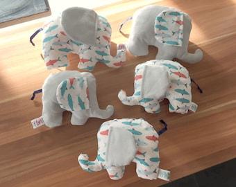 Elephant decor plush