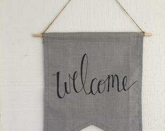 Welcome Pennants