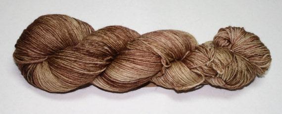 Fawn Hand Dyed Sock Yarn