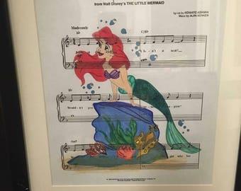 Little mermaid art
