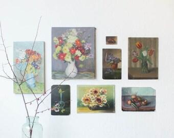 Vintage Floral Paintings