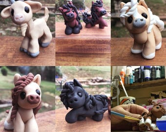 Polymer Clay Minis