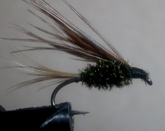 P and P Wet Fly, trout, bluegill, crappie