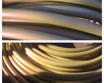 Soft gold colored 3/4 HDPE- limited supply