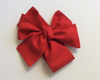 True red headwrap- christmas - baby headwrap- red