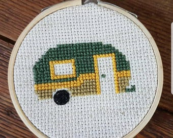 Small Camper Embroidery