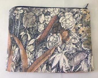 Coin Purse | Zipper Purse | Small Bag | pencil Case | Cosmetic Bag | Secret Santa Gift | Stocking Filler