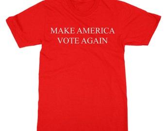 Make American Vote Again Tee Donald Trump, Hillary Clinton Election 2016