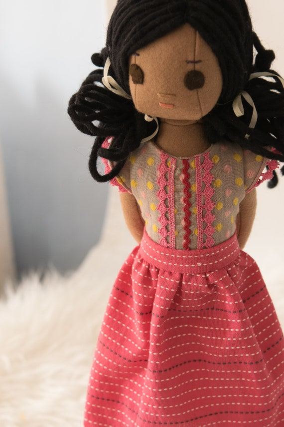 Guatemalan Rag Doll and Wardrobe