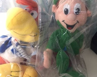 Vintage Breakfast Babies Plush Advertising Characters MIP