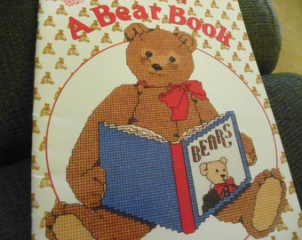 Cross Stitch Pattern Book - A Gordon Fraser A Bear Book - Over 20 Different Designs!