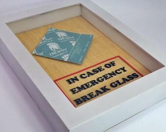 Condom Gift - In Case of Emergency Break Glass - Sex Lover Gift, Gift for Him, Gag Gift, Gift for Husband, Men, Gift for Boyfriend Valentine