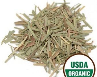 Lemongrass c/s, Organic 1 lb. POUND 16 oz.