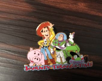 Toy Story Journey Through Time Disney Pin Old And New Toys Le Pixar