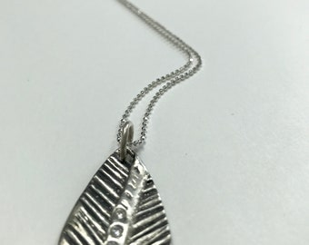Fine Silver Necklace
