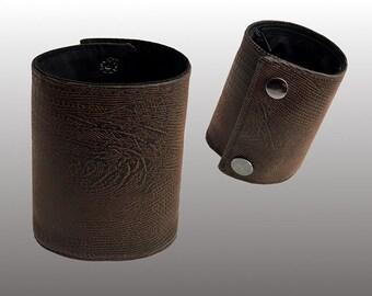 SoSic Faux Leather Wrist Wallet - Bracelet