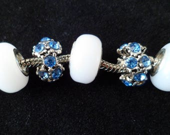 Lot 5 European Charms beads