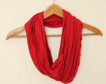 GREAT GIFT - Bamboo Knit Infinity Scarf and Shawl