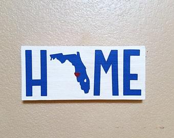 Home Wood Sign - State Sign - Wood Sign - Wood State Sign - Military Sign - Custom Home Sign - Home Sweet Home - Home Sweet Home Sign