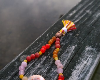 Beaded Buddha Mala Bracelet