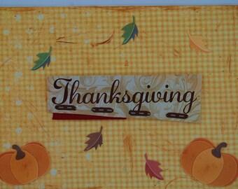 Thanksgiving Greeting Card - 5 X 7