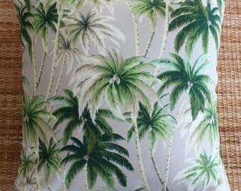 palm tree tropical outdoor cushion