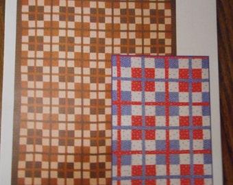 Cake Walk Quilt pattern