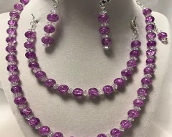 Necklace, Earrings and Bracelet Sets