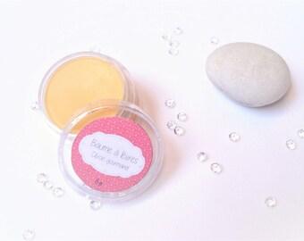 Lip balm gourmet lemon - 100% natural shea butter - 10 ml or 8 g