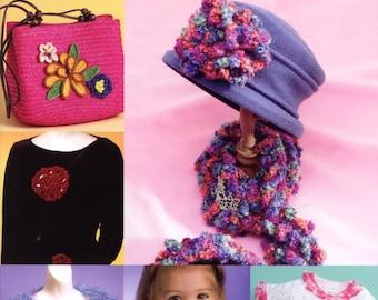 Trendy Boutique Crochet by Kathleen Power Johnson - Annie's Attic #875509