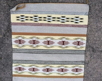 Navajo Handwoven Wool Rug. Never Walked On