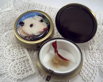 Custom Pet Keepsake Box, Pet Memorial Box, Gift for Pet Loss, Custom Pet Pendants