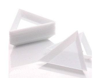 5 pcs Triangular Trays for holding rhinestones