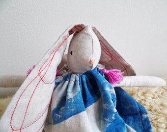 Boho Bunny w/ Indigo Dress