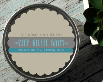 Deep Relief Balm - sore joint and muscle rub