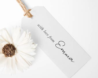 Personalised Gift Tags. Pack of 10
