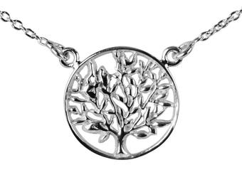 Tree of life, 45 cm sterling silver 925 pendant necklace order included