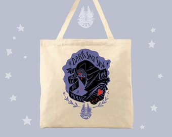 Dark Sad Side Club Kylo Ren Fan Tote