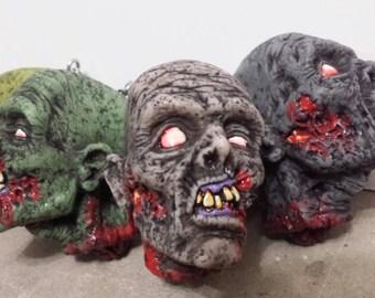 Zombie head keychain part 3!
